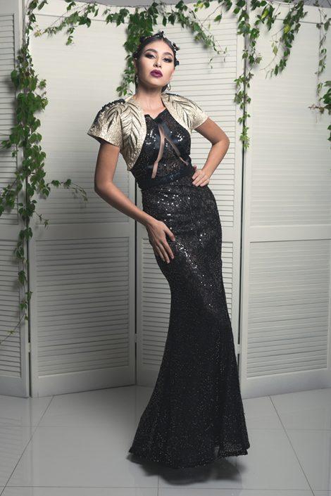 1 Pieza vestido corte Sirena