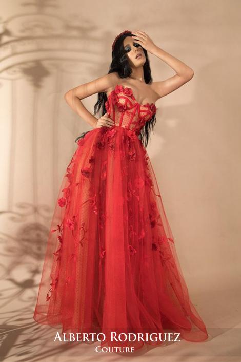 1 piezas corsete ajustable bordado 3D